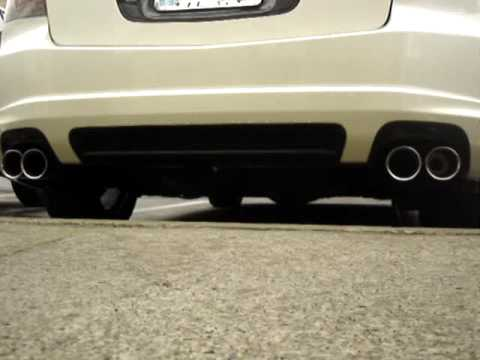 Acura TLS Magnaflow Custom Exhaust Outside YouTube - 2004 acura tl upgrades