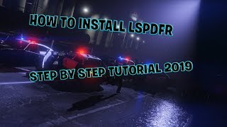 How To Install LSPDFR 0 4 4 & PLUGINS & POLICE VEHICLES // STEP BY STEP TUTORIAL
