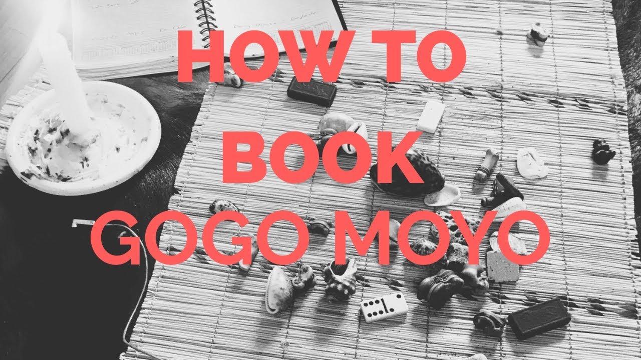 How To Book Gogo Moyo