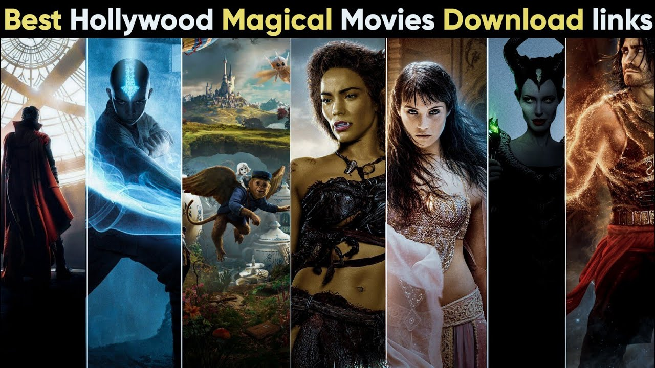 Download Top 10 Best Hollywood Magical adventure movies in Hindi | With Download Links