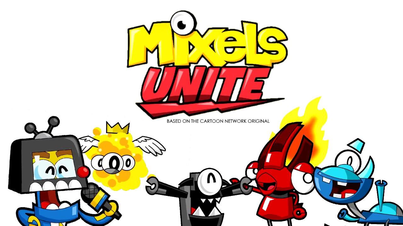 Mixels Unite - Intro Animation! (CHAPTER 1)