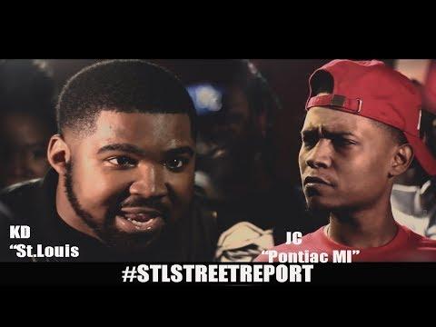 **KD vs JCFULL Battle Hosted by Aye Verb [@STLSTREETREPORT]
