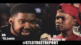 **KD vs JC   FULL Battle Hosted by Aye Verb & Hitman Holla [@STLSTREETREPORT]
