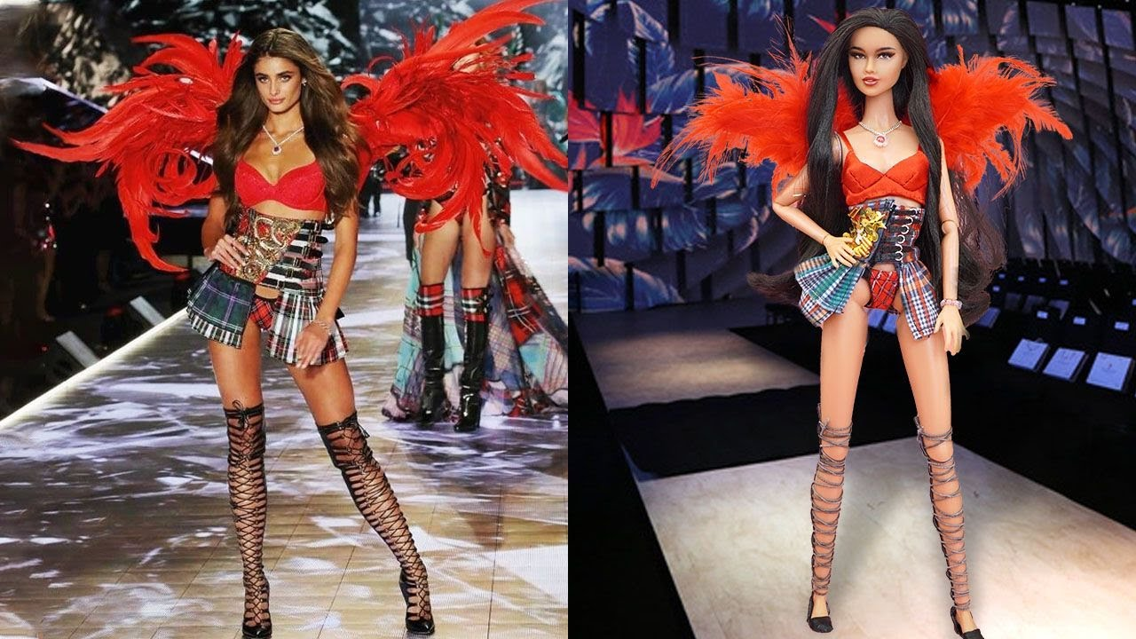 10 DIY Ideas for Your Babies to Look Like Victoria's Secret | Taylor Hill, Lais Ribeiro
