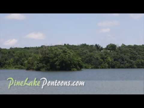 Pine Lake State Park campgrounds and pontoon rental in Eldora Iowa.