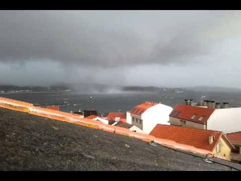 Tornado en O Barbanza