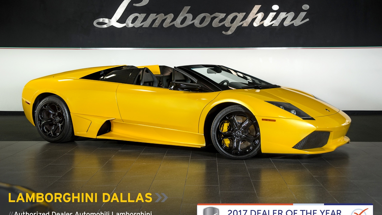 2008 Lamborghini Murcielago Lp640 Roadster Giallo Orion L0956 Youtube