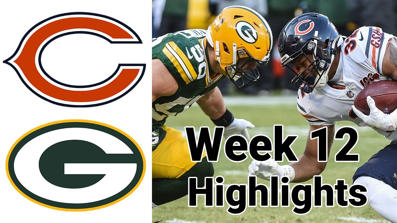 Download Sunday Night Football Bears vs Packers Highlights Full Game | NFL Week 12