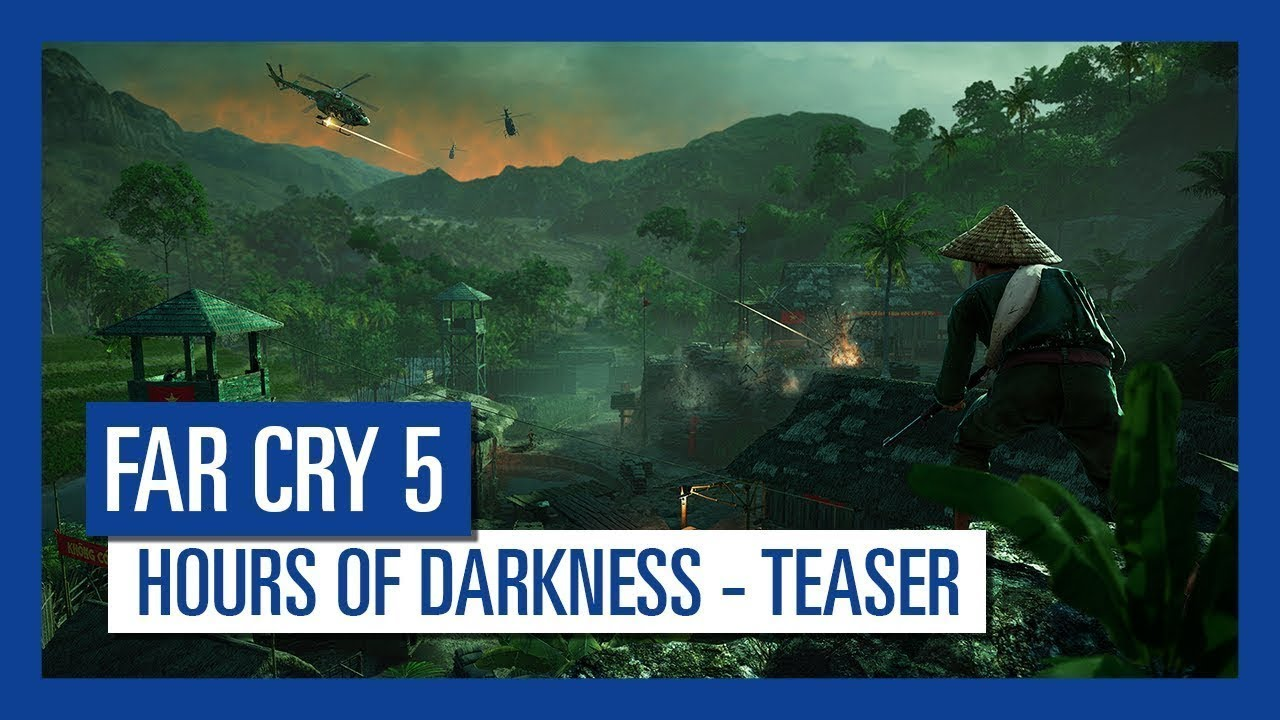 Far Cry 5 - Hours of Darkness Teaser Trailer - YouTube