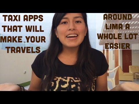 Taxi apps that will make traveling around Lima easier (Video 32)