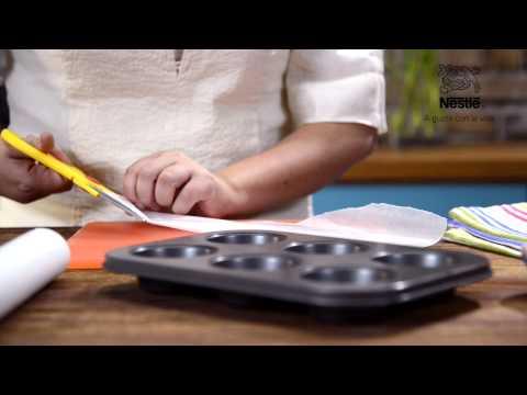 Más Ideas - Remplaza los moldes de papel en los muffins