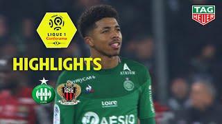 AS Saint-Etienne - OGC Nice ( 4-1 ) - Highlights - (ASSE - OGCN) / 2019-20