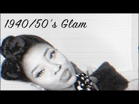 Hair Tutorial & Review | Black Pin-up Girl- 40's/50's Glam
