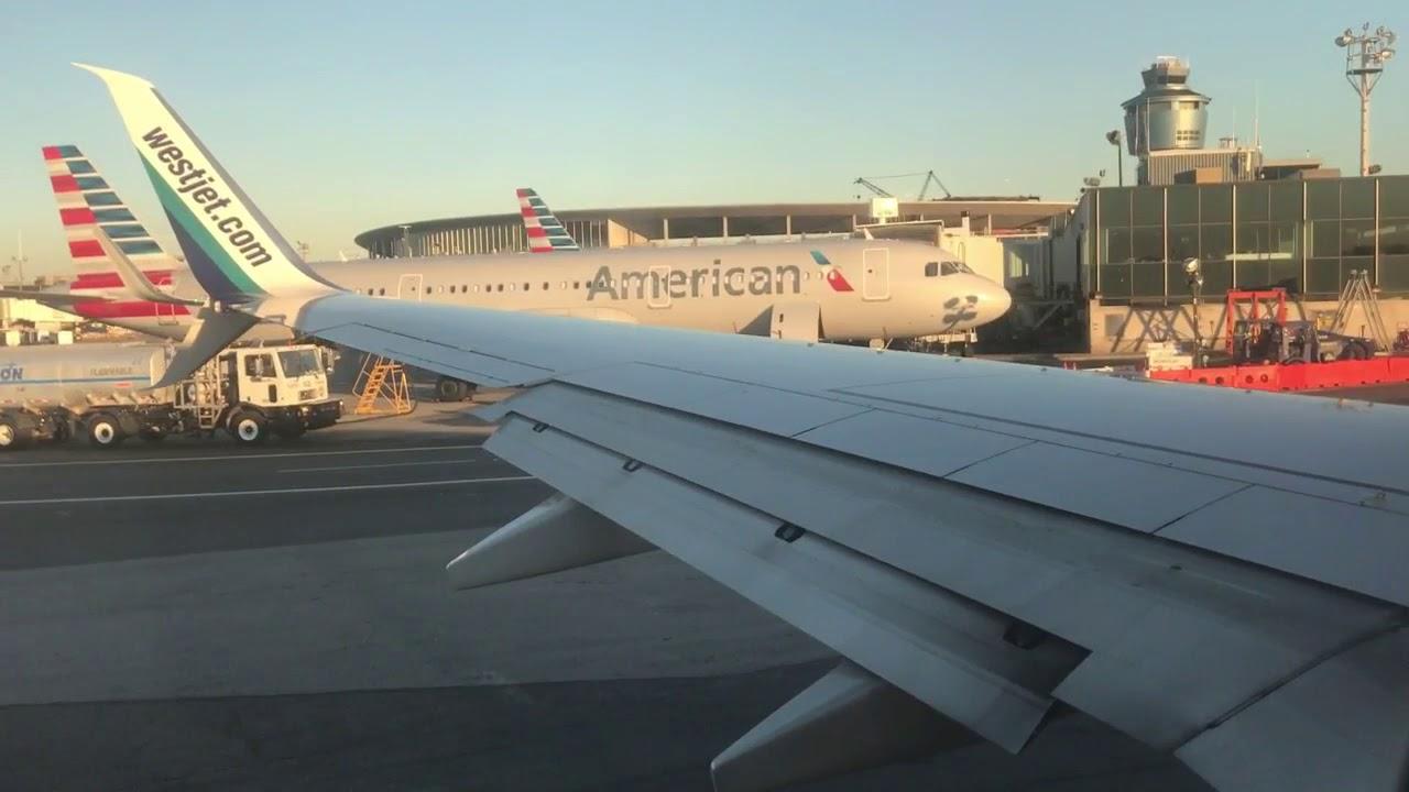 westjet boeing 737 800 new york lga to toronto full. Black Bedroom Furniture Sets. Home Design Ideas