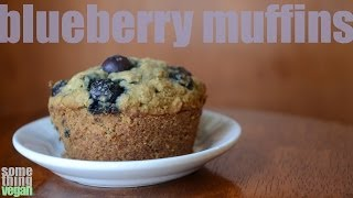 Blueberry Muffins (vegan And Gluten-free) Something Vegan