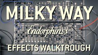 Endorphin.es - Milky Way effects walk through