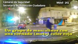 Recuperación moto robada | Barrio Santa Rosa