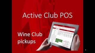 Watch an informative video demo on how active club ipad winery pos can help you be more efficient and successful in your tasting room. www.activeclubsolution...