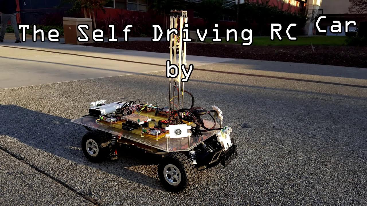 Self Driving Rc Car Project - Computer Engineering Sjsu - The Titans   Haroldo Filho 06:42 HD