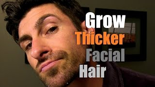 How To Grow Thicker Facial Hair | Can You Stimulate Facial Hair Growth?
