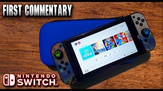 """Unboxing """"Nintendo Switch Hack"""" - First Commentary"""