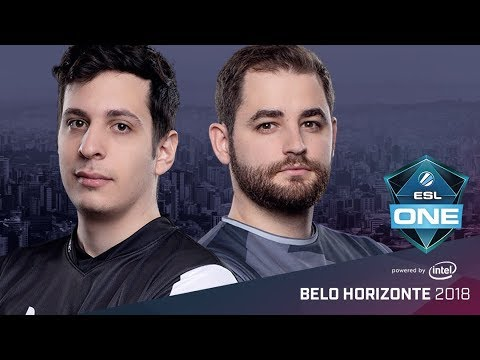CS:GO - Ghost vs. SK [Inferno] Map 1 - Group A Elimination Match - ESL One Belo Horizonte 2018
