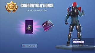 *UNLOCKING* FREE Epic Back Bling 'BACKTRACKER' After Using VICTORY ROYALE Fortnite Emote