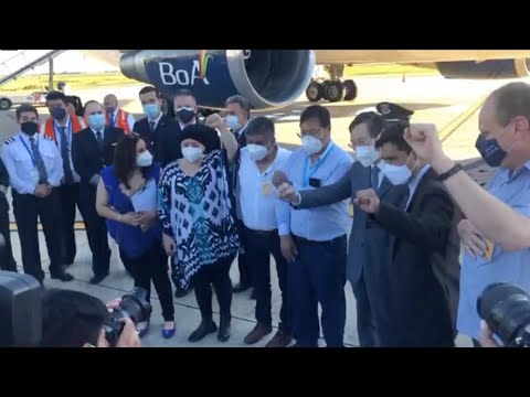 China's Sinopharm vaccine arrives in Bolivia