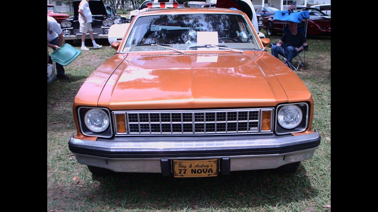 1977 Chevy Nova Two Door Hatchback Orange LakeHelen043016 & 1977 Chevy Nova Two Door Hatchback Orange LakeHelen043016 - YouTube