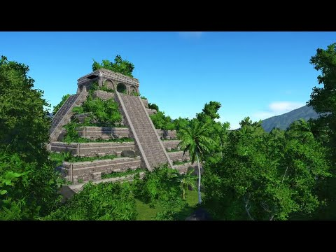 Planet Coaster - Mayan Temple