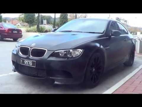 Matte Black Bmw M3 Frozen Black Edition Youtube