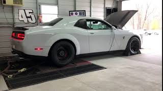 910HP 2018 Dodge Demon PUMP GAS DYNO RUN