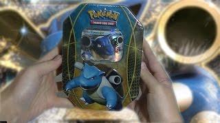 Pokemon Turtok Ex Tin Box Unboxing