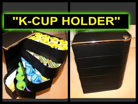 keurig 39 39 k cup holder 39 39 mind reader youtube. Black Bedroom Furniture Sets. Home Design Ideas