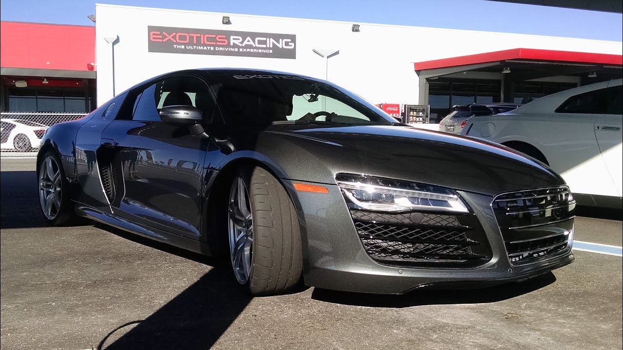 Exotics Racing Audi R8 Las Vegas Youtube