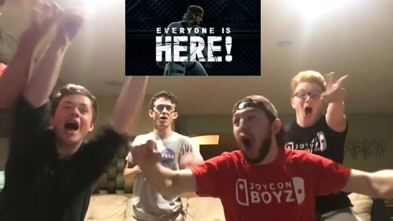 Super Smash Bros Ultimate E3 2018 GBW Live Reaction