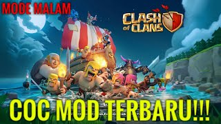 CLASH OF CLANS MOD [MODE MALAM]!!! - UPDATE TERBARU(ADA BATTLE RAM)  - COC INDONESIA#3