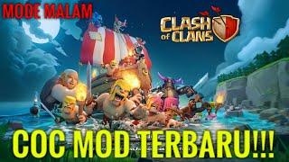 CLASH OF CLANS MOD [MODE MALAM]!!! - UPDATE TERBARU(ADA BATTLE RAM) - COC INDONESIA#3