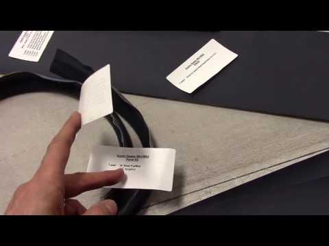 Austin Healey 100-4 Upholstery / Trim