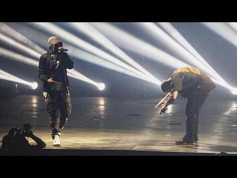 Drake x Eminem - Forever @ Joe Louis Arena in Detroit (16.08.2016)