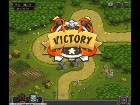Прохождение Игры Защита Замка Оборона Королевства Кингдом Раш