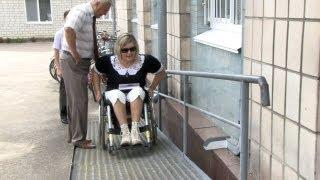 Інваліди-візочники перевірили держустанови Черняхова на доступність -- Житомир.info(http://www.zhitomir.info/news_125114.html Громадські активісти із Житомира, які пересуваються на інвалідних візках, взялися..., 2013-08-01T09:00:26.000Z)