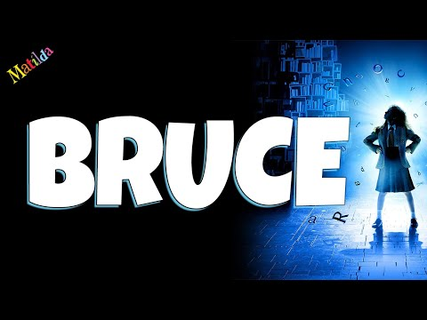 Bruce Matilda the musical Backing track karaoke instrumental