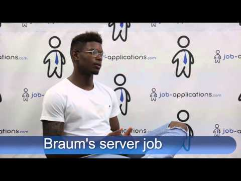 Braums Interview - server