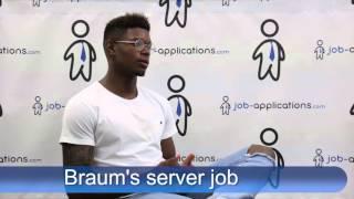 Braums Interview - server