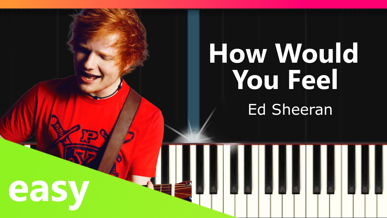 """How Would You Feel (Paean)"" EASY Piano"