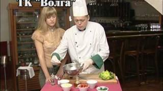 Рецепт салата с горчичным маслом