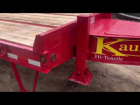 Kaufman 25 Ton Tag Trailer Review