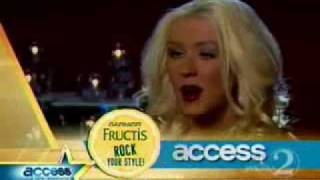 Christina Aguilera Access Hollywood A Party Mom? 2008