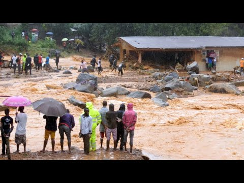 Sierra Leone mudslide kills at least 200